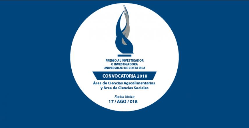 Abren Convocatoria Premio al Investigador o Investigadora 2018