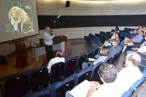 Dr. Ronald Ochoa,  Microscopio electrónico de barrido,  Artrópodos