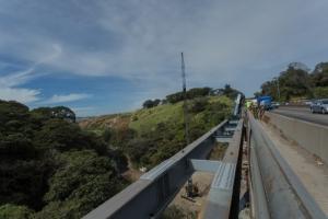 cierre autopista General Cañas puente  Río Virilla