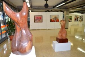 obras de maestros de la Academia de Bellas Artes de 1968