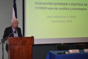 Dr. Axel Didriksson Takayanagui transformaciones en universidades