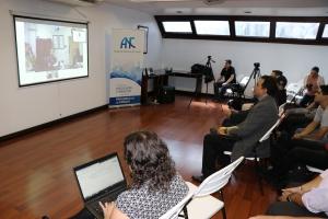 Centro AMES de la Administración Nacional de la Aeronáutica y del Espacio mariela Rojas Quesada; Jonathan Rojas González, Sergio Vargas Delgado
