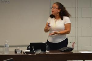Sara Barrios, Especialistaderechos humanos y  constitucionales fundamentales y normas petreas