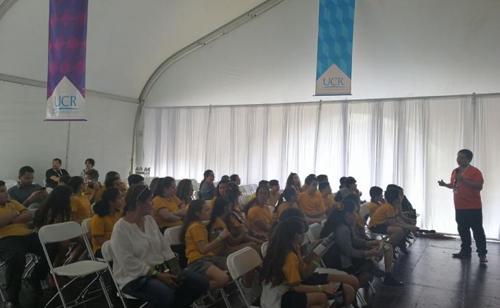 Semana UCR en el Túnel de la Ciencia David Ramírez y Mark Lu Los ingredientes para emprender
