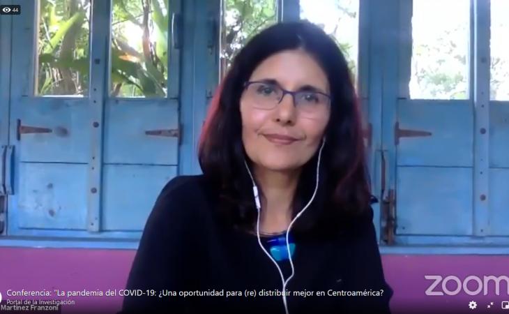 Catedrática Humboldt 2021,  Conferencia: La pandemia del COVID-19: ¿Una oportunidad para (re) distribuir mejor en Centroamérica?