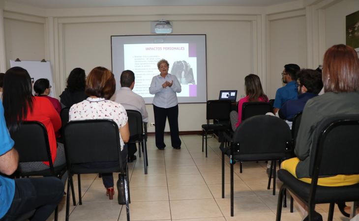 Charla prevención del hostigamiento y acoso sexual  Vicerrectoría.de Investigación